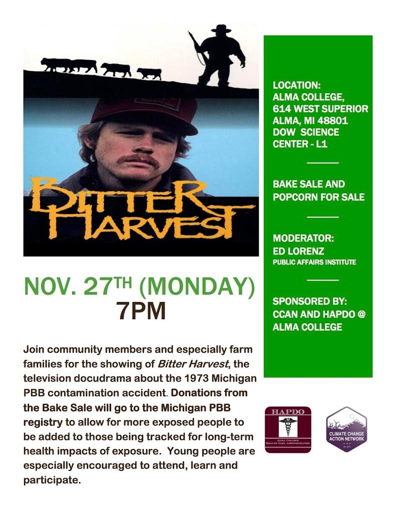 Bitter Harvest Nov. 27th