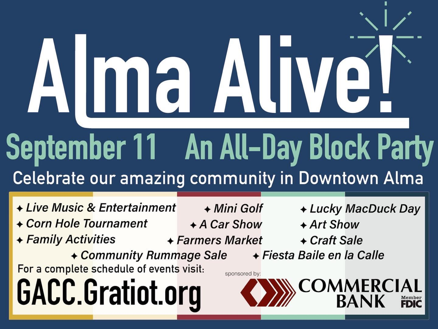 You are currently viewing See us at Alma Alive!
